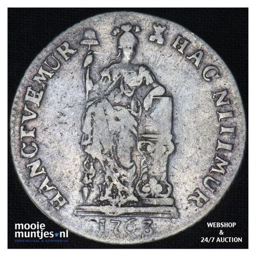Zeeland - Gulden - 1763 (kant A)