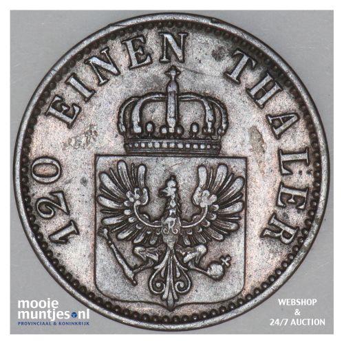 3 pfennig - German States/Prussia 1868 A (KM 482) (kant B)