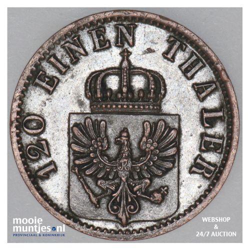 3 pfennig - German States/Prussia 1872 A (KM 482) (kant B)