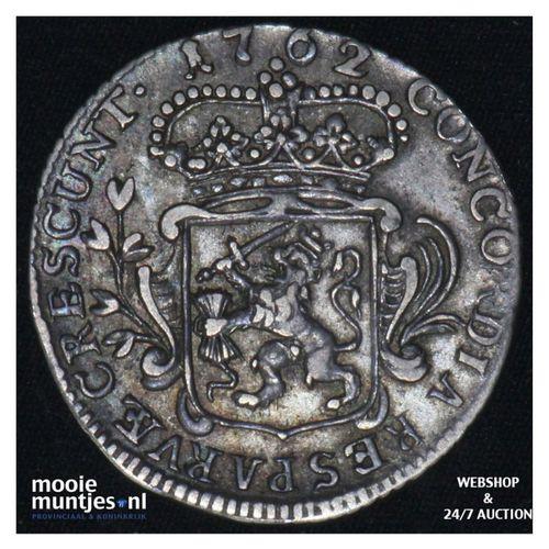 Zeeland - Achtste dukaat of Pietje - 1762 (kant A)