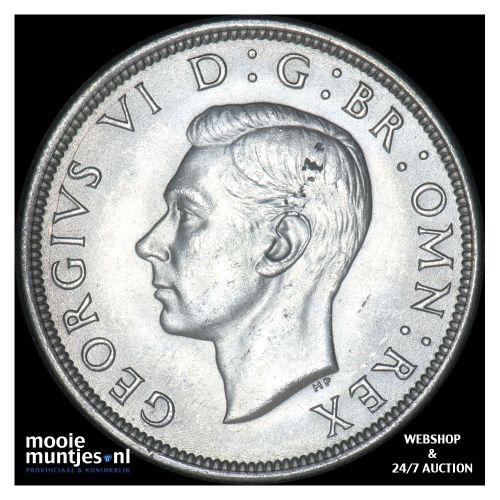 1/2 crown - Great Britain 1940 (KM 856) (kant B)