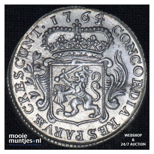 Zeeland - Achtste dukaat of Pietje - 1764 (kant A)