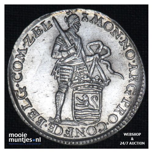 Zeeland - Achtste dukaat of Pietje - 1764 (kant B)