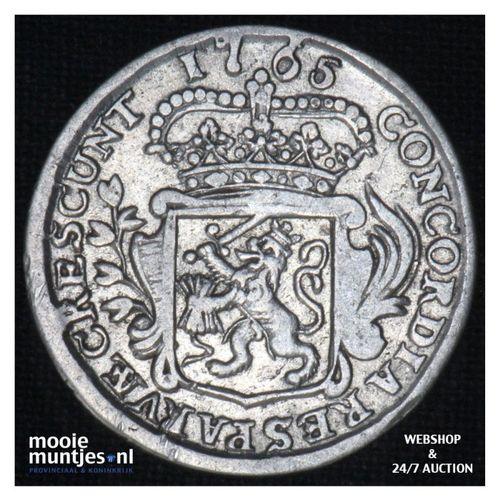 Zeeland - Achtste dukaat of Pietje - 1765 (kant A)