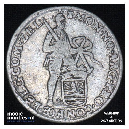 Zeeland - Achtste dukaat of Pietje - 1765 (kant B)