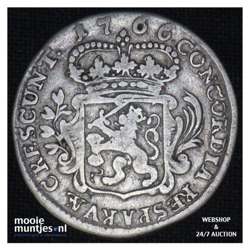 Zeeland - Achtste dukaat of Pietje - 1766 (kant A)