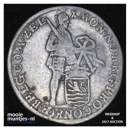 Zeeland - Achtste dukaat of Pietje - 1766 (kant B)