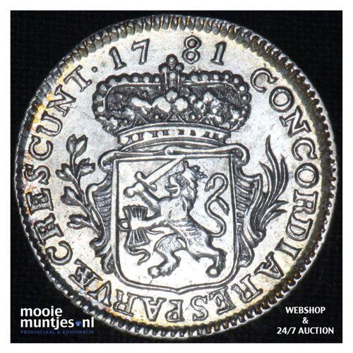 Zeeland - Achtste dukaat of Pietje - 1781 (kant A)
