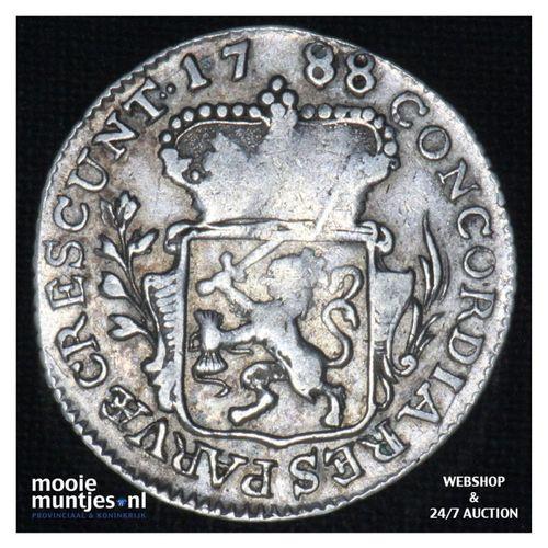 Zeeland - Achtste dukaat of Pietje - 1788 (kant A)
