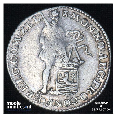 Zeeland - Achtste dukaat of Pietje - 1788 (kant B)