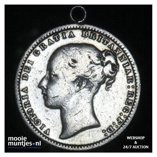 shilling - Great Britain 1871 (KM 734.2) (kant B)