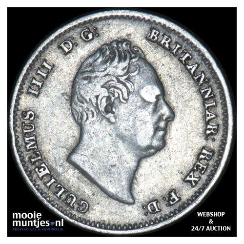 4 pence (groat) - Great Britain 1836 (KM 723) (kant B)