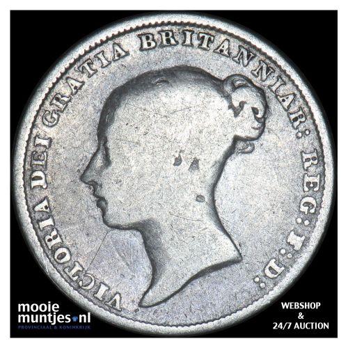 6 pence - Great Britain 1844 (KM 733.1) (kant B)