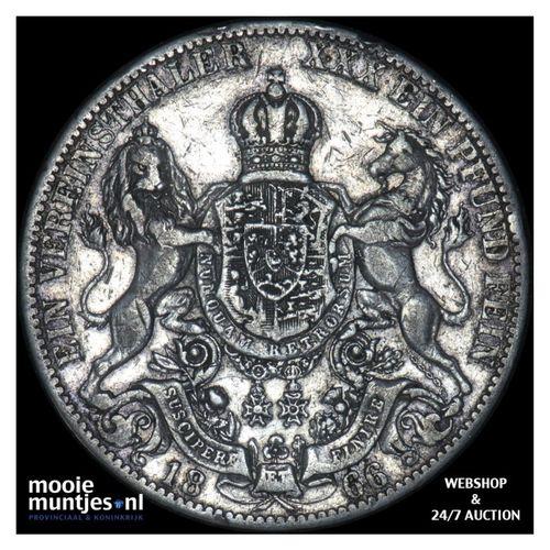 thaler - German States/Hannover 1866 B (KM 230) (kant A)