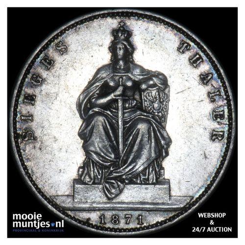 thaler - German States/Prussia 1871 A (KM 500) (kant A)