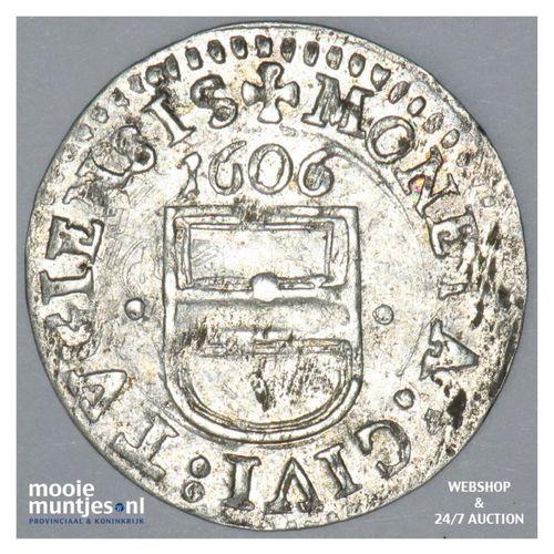 3 kreuzer (1 groschen) - Swiss Cantons/Zug 1606 (KM 17) (kant A)