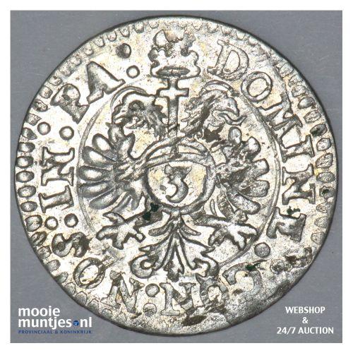3 kreuzer (1 groschen) - Swiss Cantons/Zug 1606 (KM 17) (kant B)