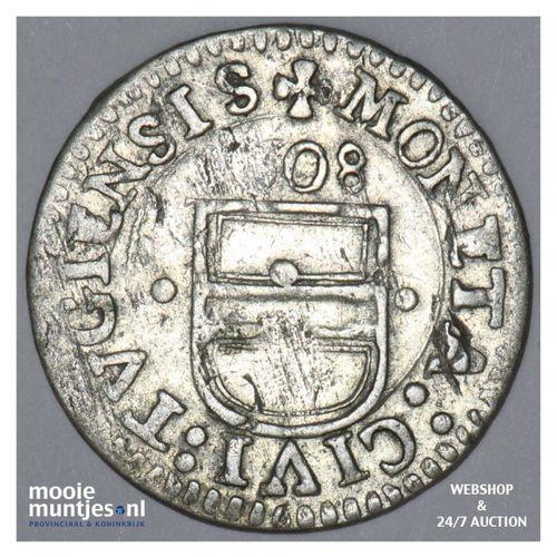 3 kreuzer (1 groschen) - Swiss Cantons/Zug 1608 (KM 17) (kant A)