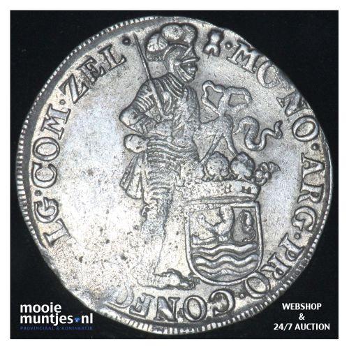 Zeeland - Zilveren dukaat - 1694 (kant B)