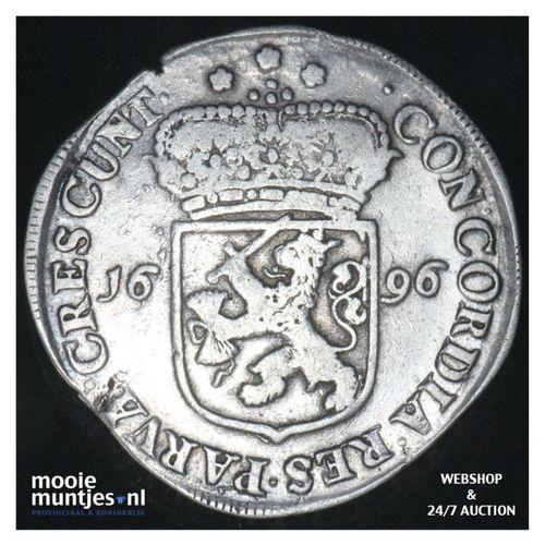Zeeland - Zilveren dukaat - 1696 (kant A)