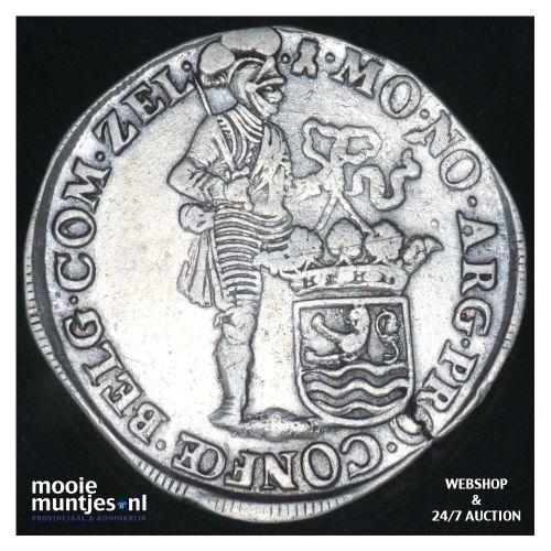 Zeeland - Zilveren dukaat - 1696 (kant B)