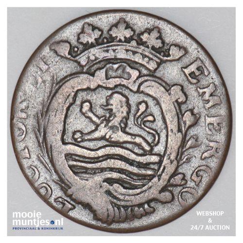 Zeeland - Duit - 1779 (kant B)