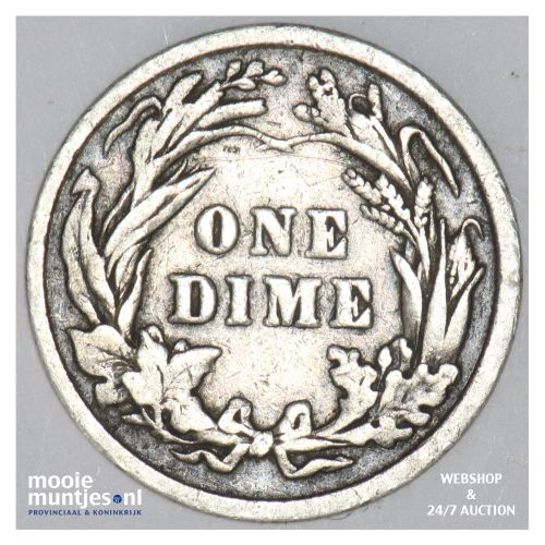 dime - barber - United States of America 1901 (KM 113) (kant B)