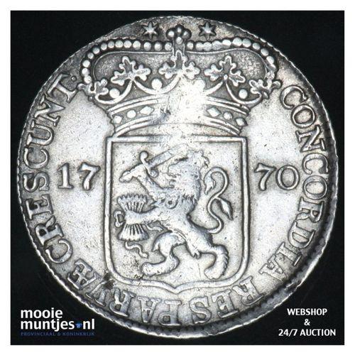 Zeeland - Zilveren dukaat - 1770 (kant A)