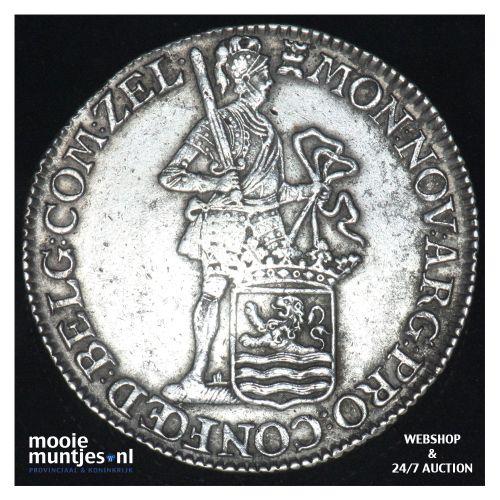 Zeeland - Zilveren dukaat - 1773 (kant B)