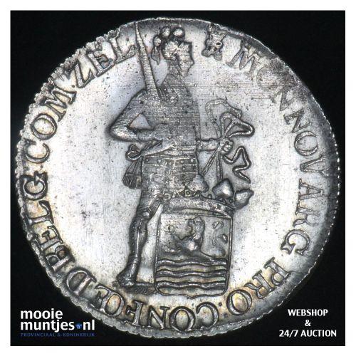 Zeeland - Zilveren dukaat - 1786 (kant B)