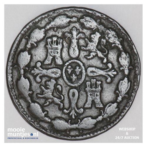 8 maravedis - Spain 1804 (KM 428) (kant B)