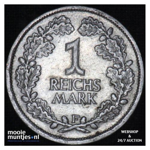 reichsmark - Germany-Weimar Republic 1925 F (KM 44) (kant B)