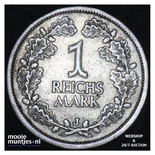 reichsmark - Germany-Weimar Republic 1925 J (KM 44) (kant B)