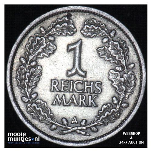 reichsmark - Germany-Weimar Republic 1926 A (KM 44) (kant B)