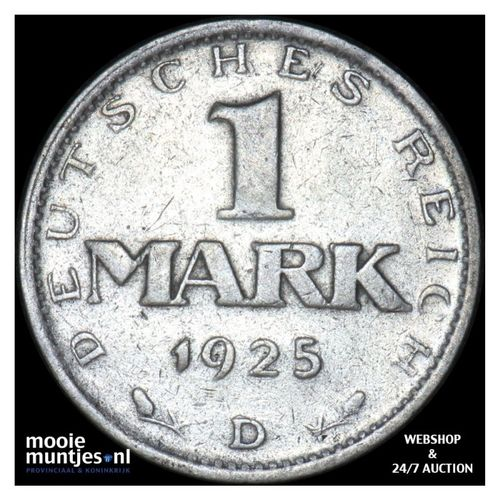 mark - Germany-Weimar Republic 1925 D (KM 42) (kant A)