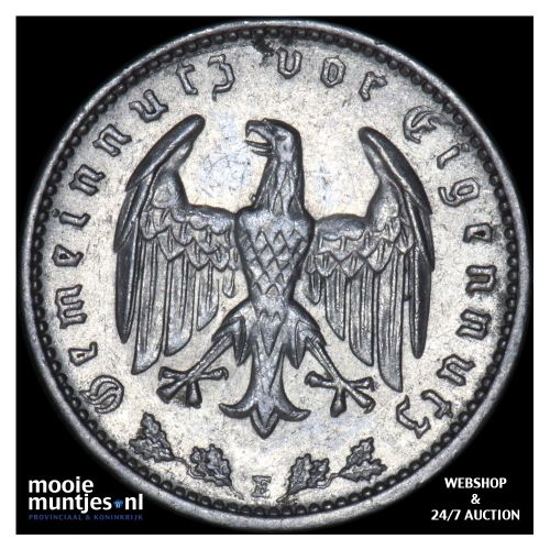 reichsmark - Germany-Third Reich 1933 E (KM 78) (kant B)