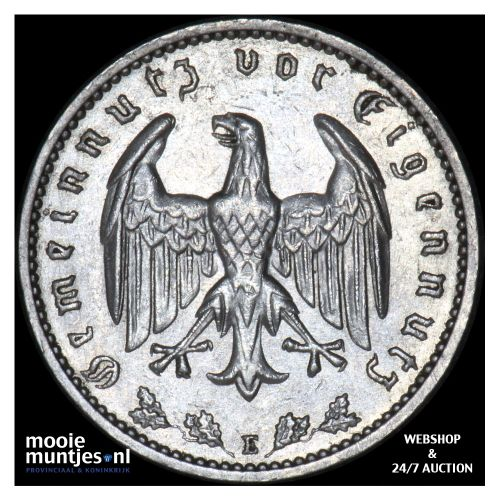reichsmark - Germany-Third Reich 1934 E (KM 78) (kant B)