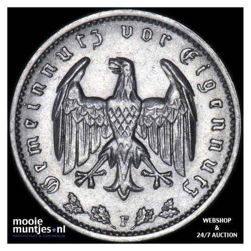 reichsmark - Germany-Third Reich 1934 F (KM 78) (kant B)