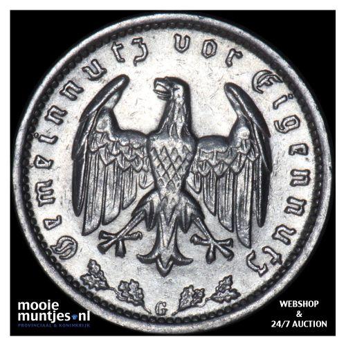 reichsmark - Germany-Third Reich 1934 G (KM 78) (kant B)