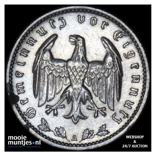 reichsmark - Germany-Third Reich 1935 A (KM 78) (kant B)