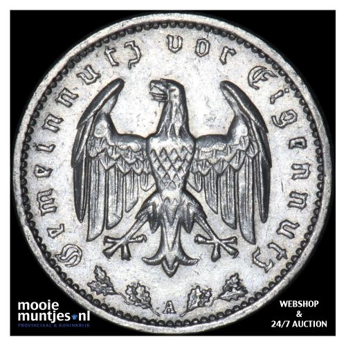 reichsmark - Germany-Third Reich 1936 A (KM 78) (kant B)
