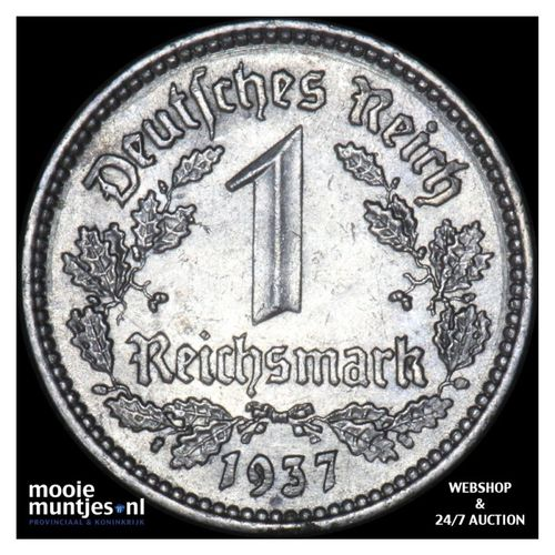 reichsmark - Germany-Third Reich 1937 A (KM 78) (kant A)