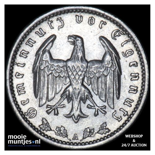reichsmark - Germany-Third Reich 1937 A (KM 78) (kant B)