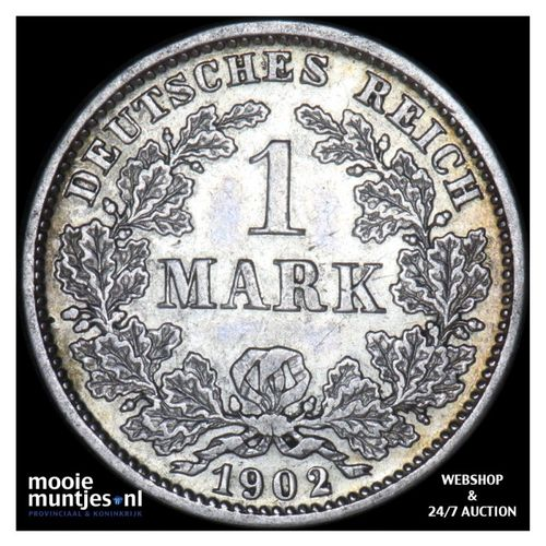 mark - Germany 1902 D (KM 14) (kant A)