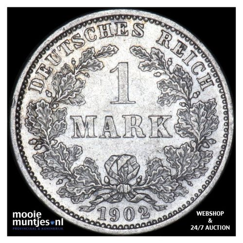 mark - Germany 1902 J (KM 14) (kant A)