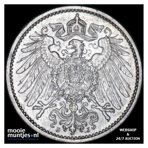 mark - Germany 1902 J (KM 14) (kant B)