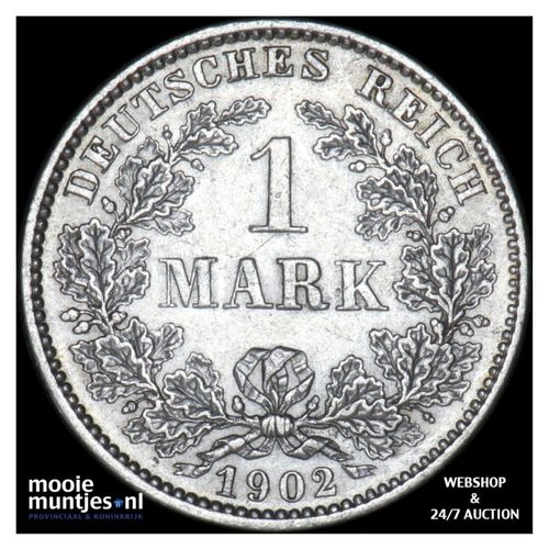 mark - Germany 1902 E (KM 14) (kant A)