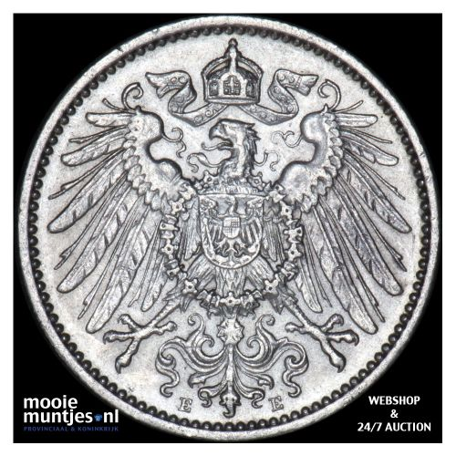 mark - Germany 1902 E (KM 14) (kant B)