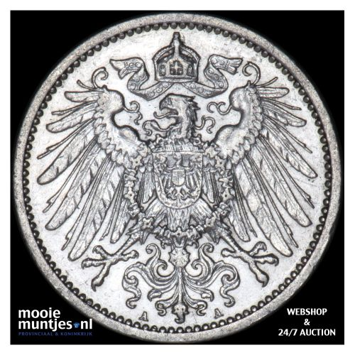 mark - Germany 1911 A (KM 14) (kant B)