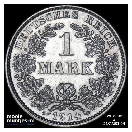 mark - Germany 1914 J (KM 14) (kant A)